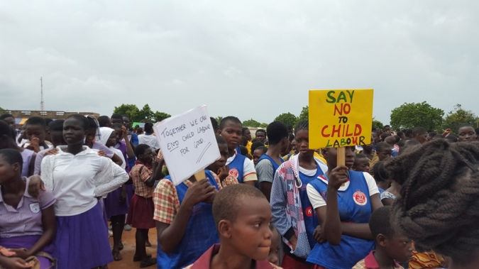 Children advocates for their rights